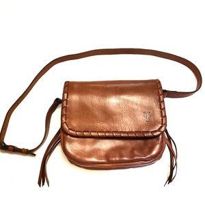 Frye Layla Concho Leather Crossbody Bag